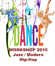 Dance Workshop - Jazz / Modern - HipHop