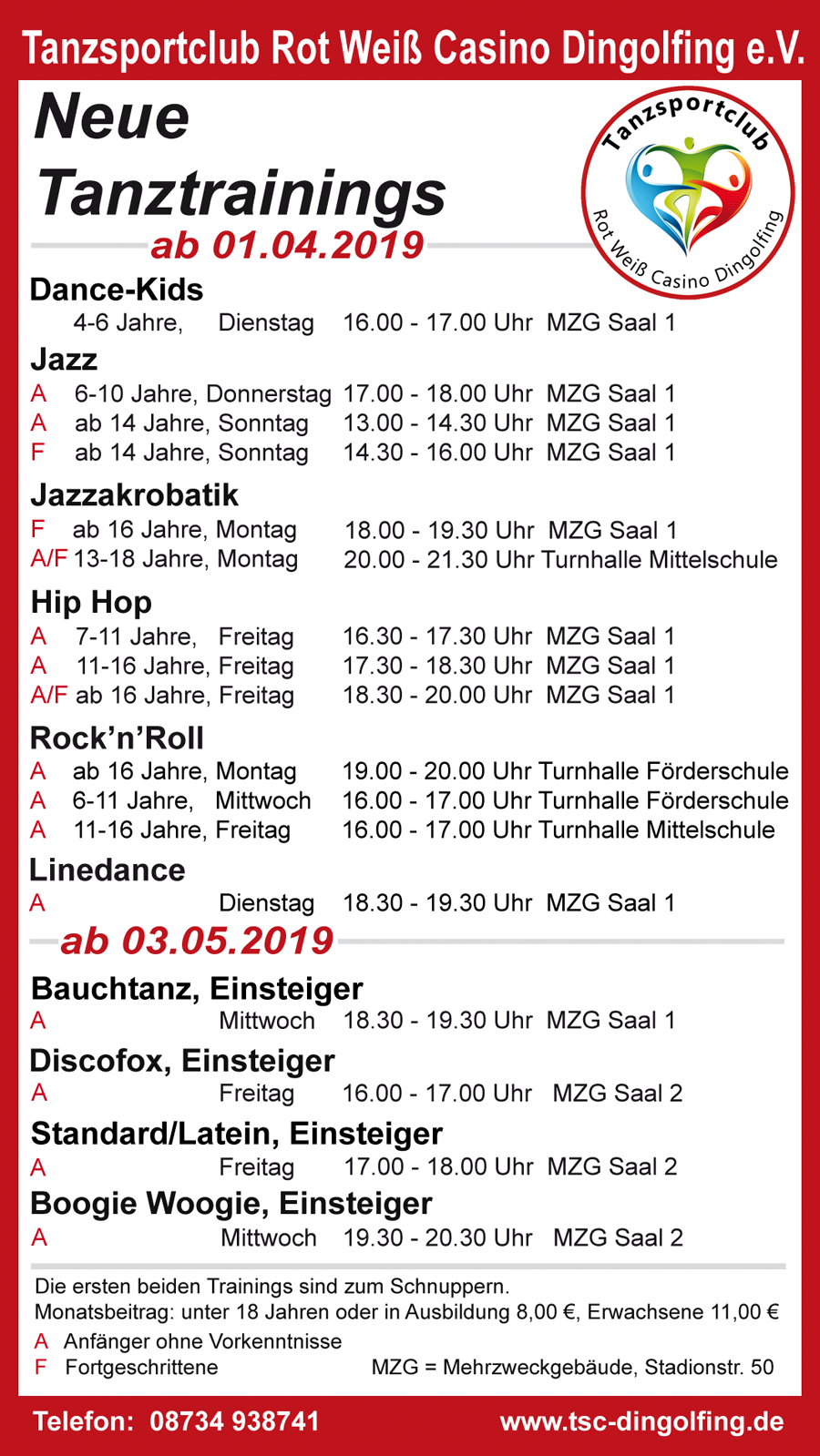 trainings 20190328